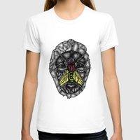 skulls T-shirts featuring skulls by Hanan Azran