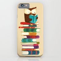 Owl Reading Rainbow iPhone 6 Slim Case