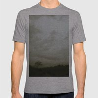 Dawn in the countryside Mens Fitted Tee Athletic Grey SMALL