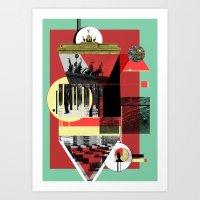 Berlin. Art Print