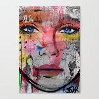 Inner Code Canvas Print