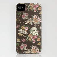 iPhone 4s & iPhone 4 Cases featuring Botanic Wars by Josh Ln