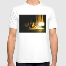 Metamorphosis SMALL White Mens Fitted Tee