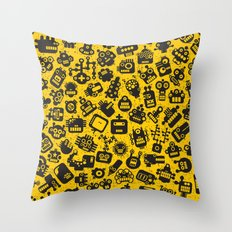Heads. Throw Pillow