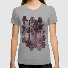 Sunrising Womens Fitted Tee Athletic Grey SMALL