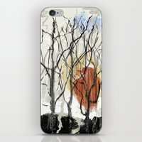 Dreams Of A Dying Forest iPhone & iPod Skin