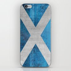 Scotland Flag iPhone & iPod Skin