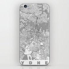 Sydney Map Line iPhone & iPod Skin