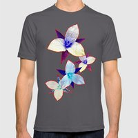 The Patriot Blooms Mens Fitted Tee Asphalt SMALL