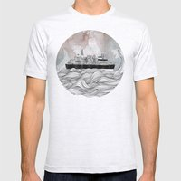 Almost Home Mens Fitted Tee Ash Grey SMALL
