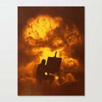 Disasterpiece Canvas Print
