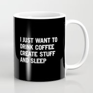 I Just Want To Drink Cof… Mug