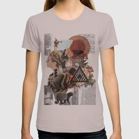 What Went Before Part 1 Womens Fitted Tee Cinder SMALL