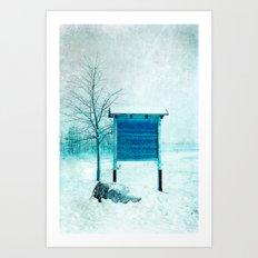 inverno Art Print
