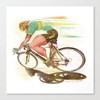 The Sprinter, Cycling Ed… Canvas Print