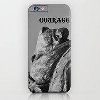 iPhone & iPod Case featuring Lion Heart by Mark Giarrusso