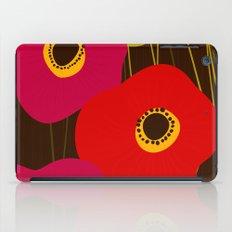 Red Poppy Flowers by Friztin iPad Case