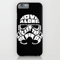 iPhone & iPod Case featuring Stormtrooper in typography by BomDesignz
