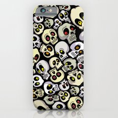 Skull Pattern iPhone 6s Slim Case