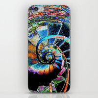 Stairway To Infinity iPhone & iPod Skin