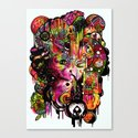 Amygdala Malfunction Canvas Print
