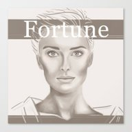 Fortune Canvas Print