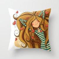 Amorousness Throw Pillow
