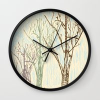 A Winters Sketch Wall Clock