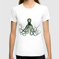 octopus T-shirts featuring Octopus by LebensART