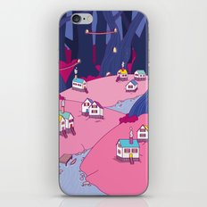 Village In The Woods iPhone & iPod Skin