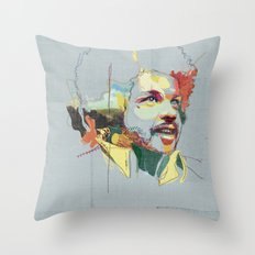 Tim Maia Throw Pillow