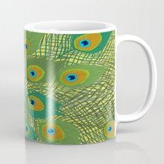 Peacock in Colour Mug