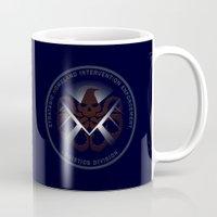 Hidden HYDRA - S.H.I.E.L.D. Logo with Wording Mug