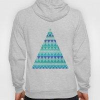 Winter Aztec Pattern Hoody