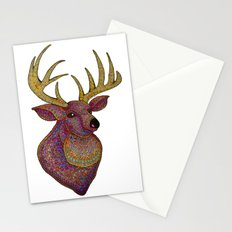 Darling, Detailed Deer Stationery Cards