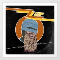 ZZ COP Art Print