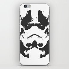 Stormtrooper Rorschach iPhone & iPod Skin