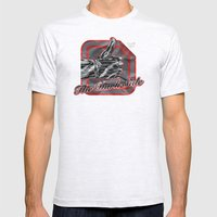 The Dark Side Mens Fitted Tee Ash Grey SMALL