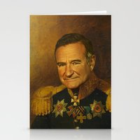 Robin Williams - Replace… Stationery Cards