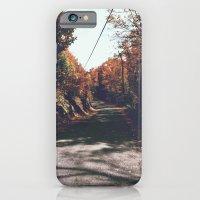 Kenisis lake fall road iPhone 6 Slim Case