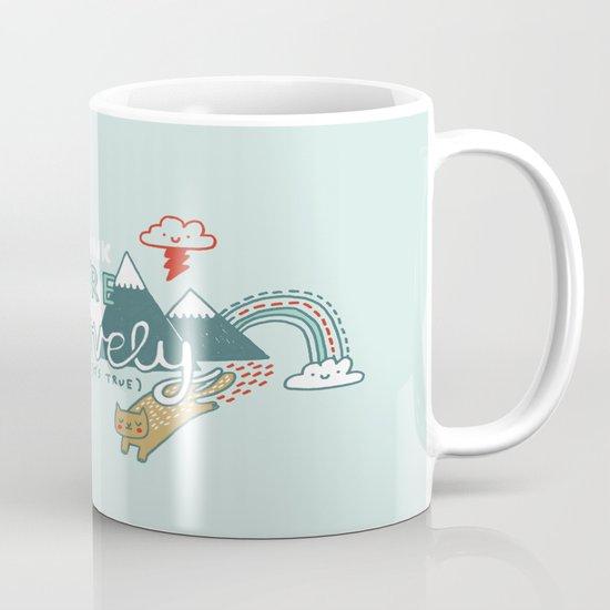 I Think You're Lovely Mug