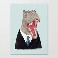 T. Rex - All Business Canvas Print
