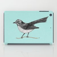 Willy Wagtail iPad Case