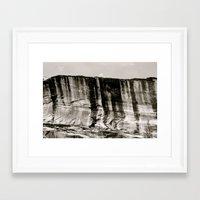 Desert Wall Framed Art Print