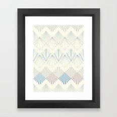 Muted Mellow Framed Art Print