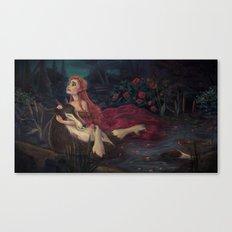 The Beast Dies Canvas Print