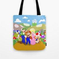 Mario & Friends Tote Bag