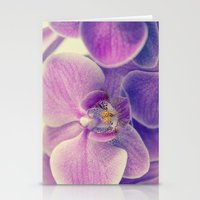 Orchid - Lilac Colored Stationery Cards