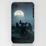 TOOTHLESS Halloween iPhone (3g, 3gs) Slim Case