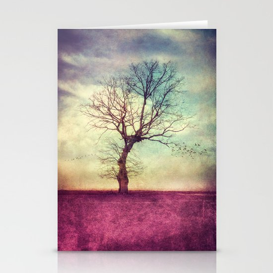 ATMOSPHERIC TREE Stationery Card
